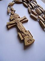 Крест наперстный резной