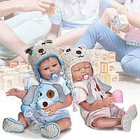 19 всеготелаСиликоновыйребенокКукла реалистичные игрушки для мальчиков и девочек-1TopShop