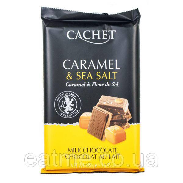 Cachet Молочный шоколад с карамелью и морской солью