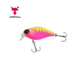 Воблер Jackall Chubby 38, дл. 3,8 см, глуб. 0,6 - 1 м, floating, цв. Dragon Fruit Mat Tiger