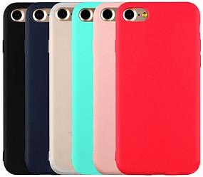Матовый чехол iPhone 6 6S (силиконовая накладка) (Айфон 6 6С)