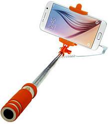 Монопод для селфи Mini Soft 140-600 mm Orange