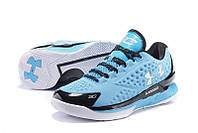 Мужские кроссовки UNDER ARMOUR CHARGED FOAM CURRY 1 Low (Blue/Black), фото 1