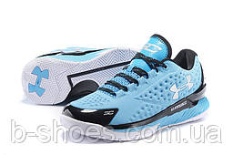 Мужские кроссовки UNDER ARMOUR CHARGED FOAM CURRY 1 Low (Blue/Black)