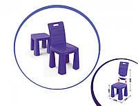 Детский раскладной пластиковый Стул-табурет (Фиолетовый) (30х60х30см)