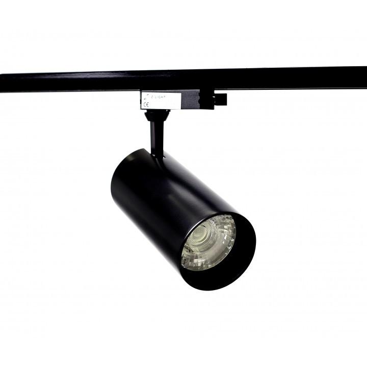 Светильник трековый светодиодный 30Вт 220В Z-light ZL4015, черный 2000-04982