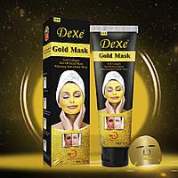 Маска для лица DEXE GOLD MASK 120г Золотая омолаживающая