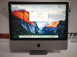 "Моноблок Apple A1224 iMac 7.1 20"" (1680х1050), Intel Core2Duo T7700 2.4GHz, 4ГБ DDR2, HDD 160ГБ"
