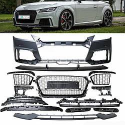 Передний бампер тюнинг обвес Audi TT 8S (2014+) стиль TTRS