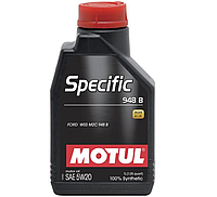 Моторное масло Motul Specific 948B 5W-20 1 л