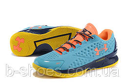 Мужские кроссовки UNDER ARMOUR CHARGED FOAM CURRY 1 Low (Blue/Orange)