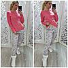 Женская пижама интерлок кофта и штаны