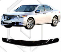 Дефлектор капота  Honda Accord с 2008, Мухобойка Honda Accord