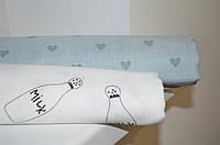 Муслиновые пеленки для новорожденных (2шт)
