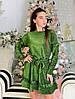 Праздничное платье из люрекса на трикотажной основе.  Размер:42-46. Разные цвета. (2702), фото 2