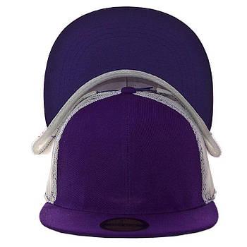 Кепка с прямым козырьком RS15003 фиолетовый