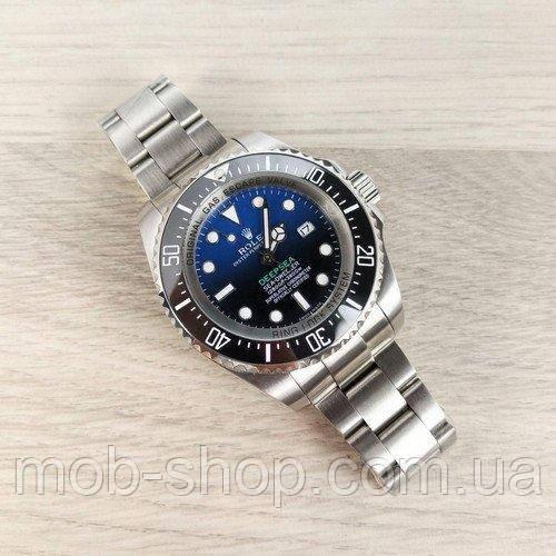 Наручные часы Rolex Deepsea Sea-Dweller Silver-Black-Blue