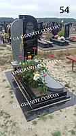 Новий комбінований пам'ятник із квітником