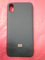 Накладка   Silicon Cover full   для  Xiaomi Redmi 7A (темно-синий)