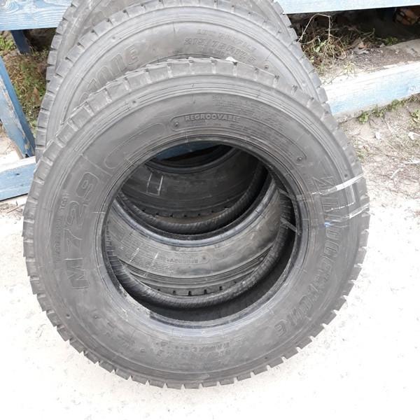 Шины б.у. 215.75.r17.5 Bridgestone M729 Бриджстоун. Резина бу для грузовиков и автобусов