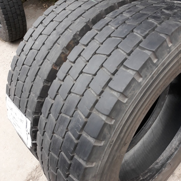 Шины б.у. 215.75.r17.5 Michelin XDE2 Мишлен. Резина бу для грузовиков и автобусов