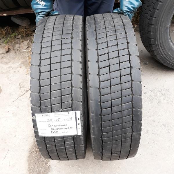 Грузовые шины б.у. / резина бу 215.75.r17.5 Continental Conti Hybrid LD3 Континенталь
