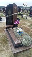 Чоловічий пам'ятник на могилу із граніту
