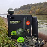 Эхолот Deeper CHIRP+ WiFi+GPS + ПОДАРКИ (термос, баф, накладка для ночной рыбалки)
