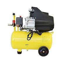 Воздушный поршневой компрессор 24 л. Werk BM-2T24N для дома одноцилиндровый 1.5 кВт, фото 3