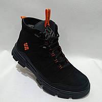 Мужские кожаные зимние ботинки Columbia / Коламбия, фото 1