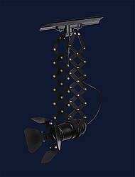 Стельовий світильник трековий чорно білого кольору Левистелла&75224 BK (трек)