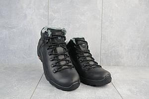 Мужские ботинки кожаные зимние черные Step Wey 5231