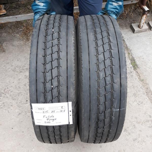 Грузовые шины б.у. / резина бу 215.75.r17.5 Fulda Regiocontrol Фулда