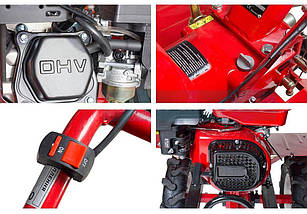 """Бензиновый мотоблок Forte 1050G колёса 10"""", фото 2"""