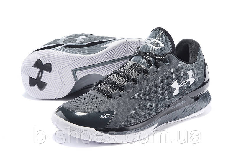 Мужские кроссовки UNDER ARMOUR CHARGED FOAM CURRY 1 Low (Black)