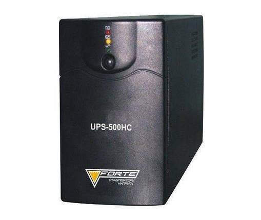 Источник бесперебойного питания Forte UPS-500HC, фото 2