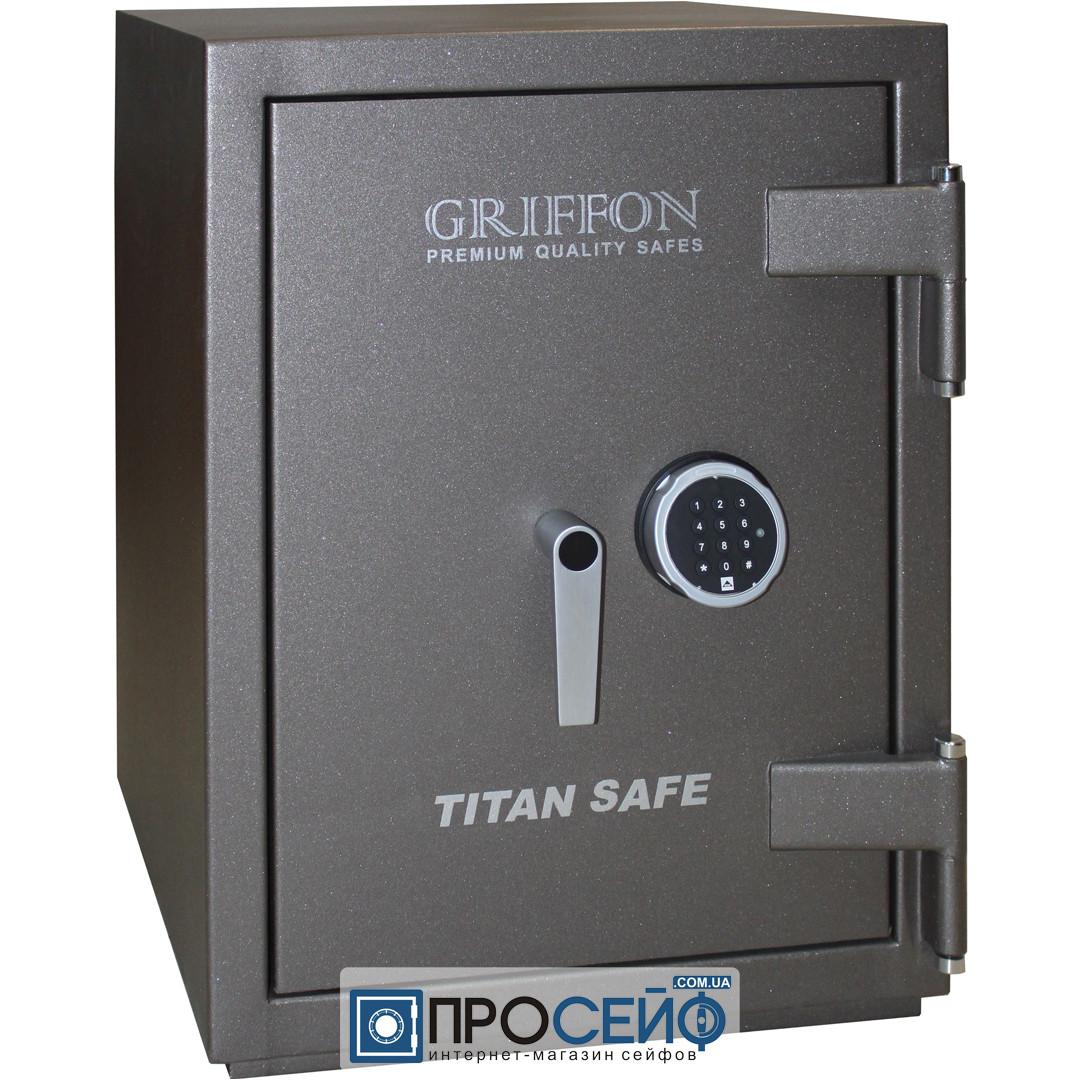 Огневзломостойкий сейф GRIFFON CL III.68.E Grey