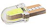Автомобильная лампочка T10 W5W COB LED - зеленый