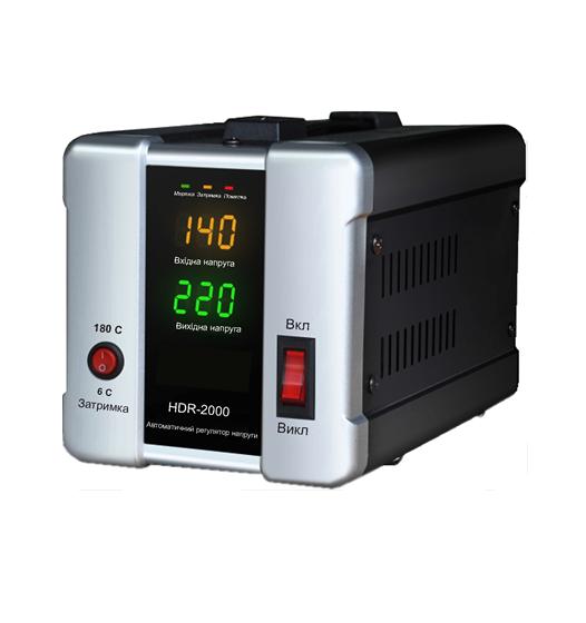 Стабилизатор напряжения Forte HDR 3,0 кВт. Напольный. Цифровой вольтметр