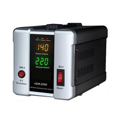 Стабилизатор напряжения Forte HDR 3,0 кВт. Напольный. Цифровой вольтметр, фото 2