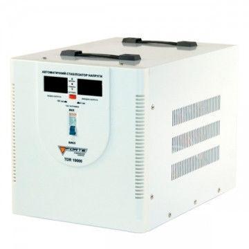 Стабилизатор напряжения Forte TDR 10,0 кВт. Напольный. Цифровой вольтметр