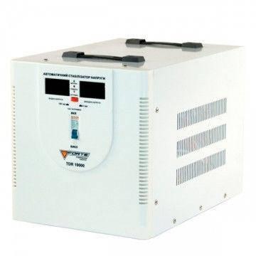Стабилизатор напряжения Forte TDR 10,0 кВт. Напольный. Цифровой вольтметр, фото 2
