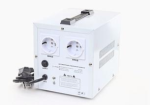 Стабилизатор напряжения Forte TDR 2,0 кВт. Напольный. Цифровой вольтметр, фото 2