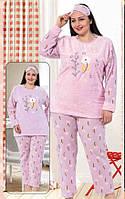 Теплая пижама большого размера для женщин Турция