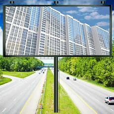 Рекламные экраны и панели