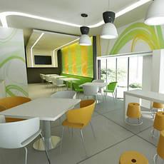 Мебель для fast-food, общее