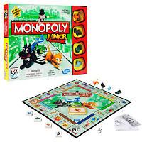 Hasbro Monopoly A6984 Настольная игра Моя первая Монополия на немецком языке