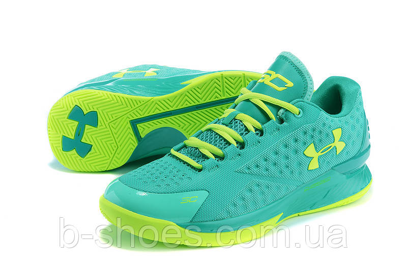 Мужские кроссовки UNDER ARMOUR CHARGED FOAM CURRY 1 Low (Green)