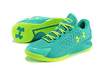 Мужские кроссовки UNDER ARMOUR CHARGED FOAM CURRY 1 Low (Green), фото 1