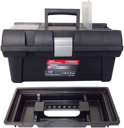 Ящик для инструментов Haisser Staff Semi Profi Alu 16, фото 2